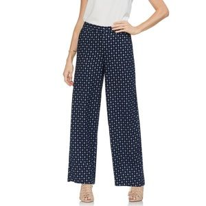 NWT VINCE CAMUTO GEO PRINTED WIDE LEG PANTS